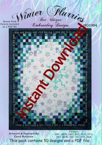 Winter FlurriesInstant Download - Product Image