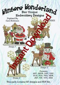 Winters WonderlandInstant Download - Product Image