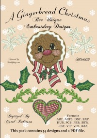 A Gingerbread Christmas - Product Image