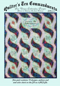 Quilters 10 Commandments - NEW - Product Image